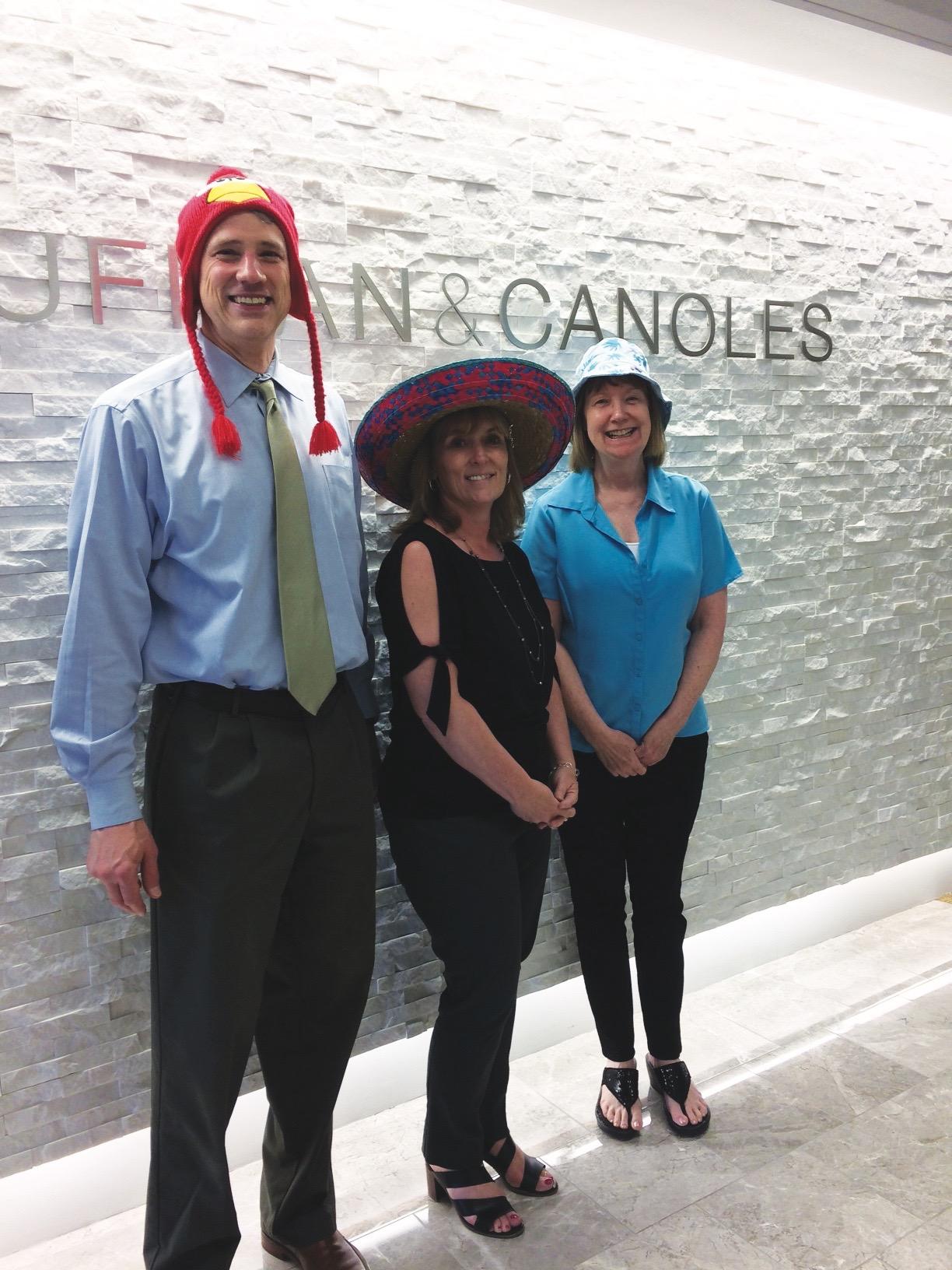 Kaufman & Canoles hats