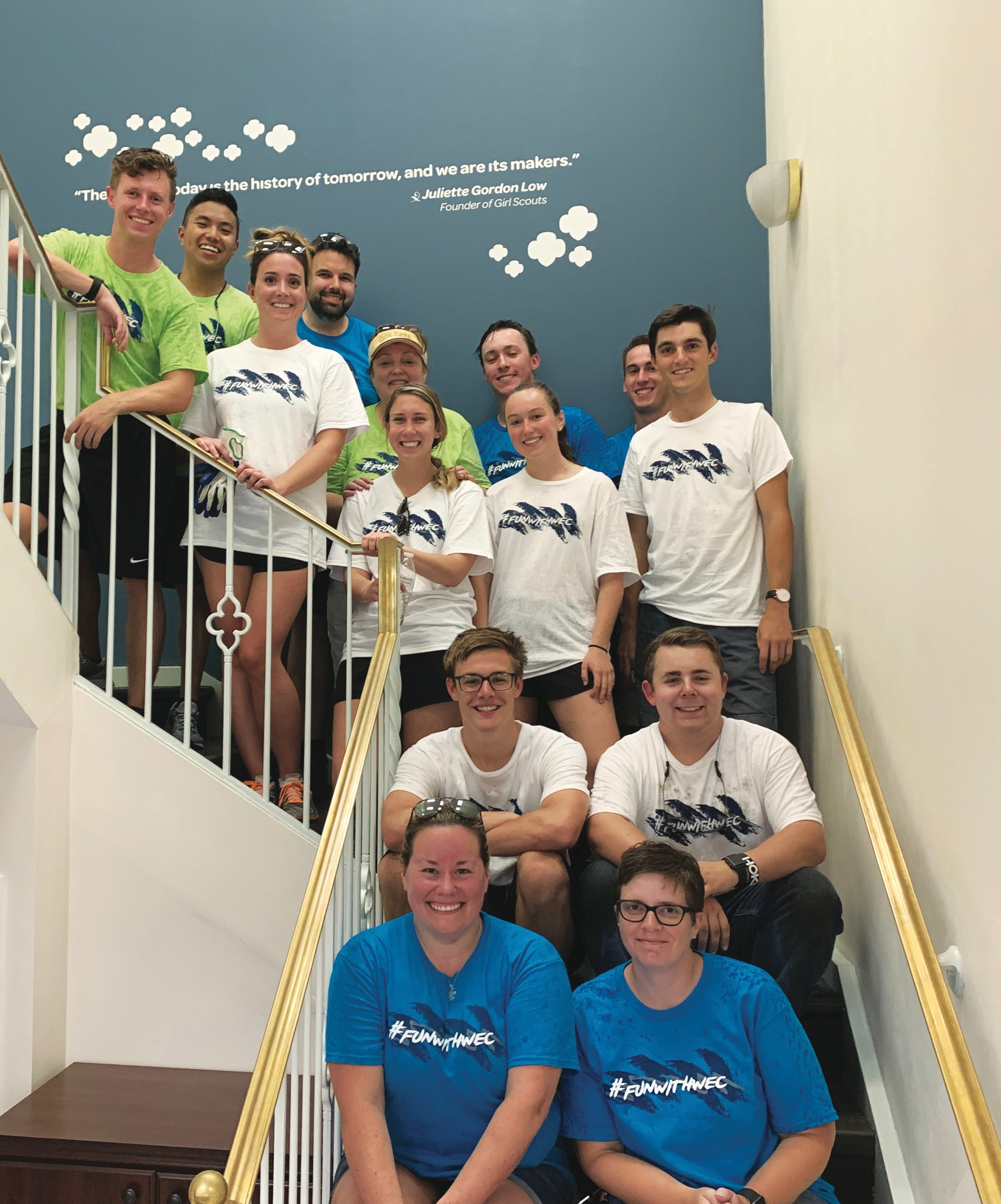 WEC volunteers
