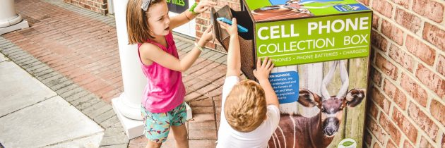 Virginia Zoo Debuts Cell Phone Recycling Program