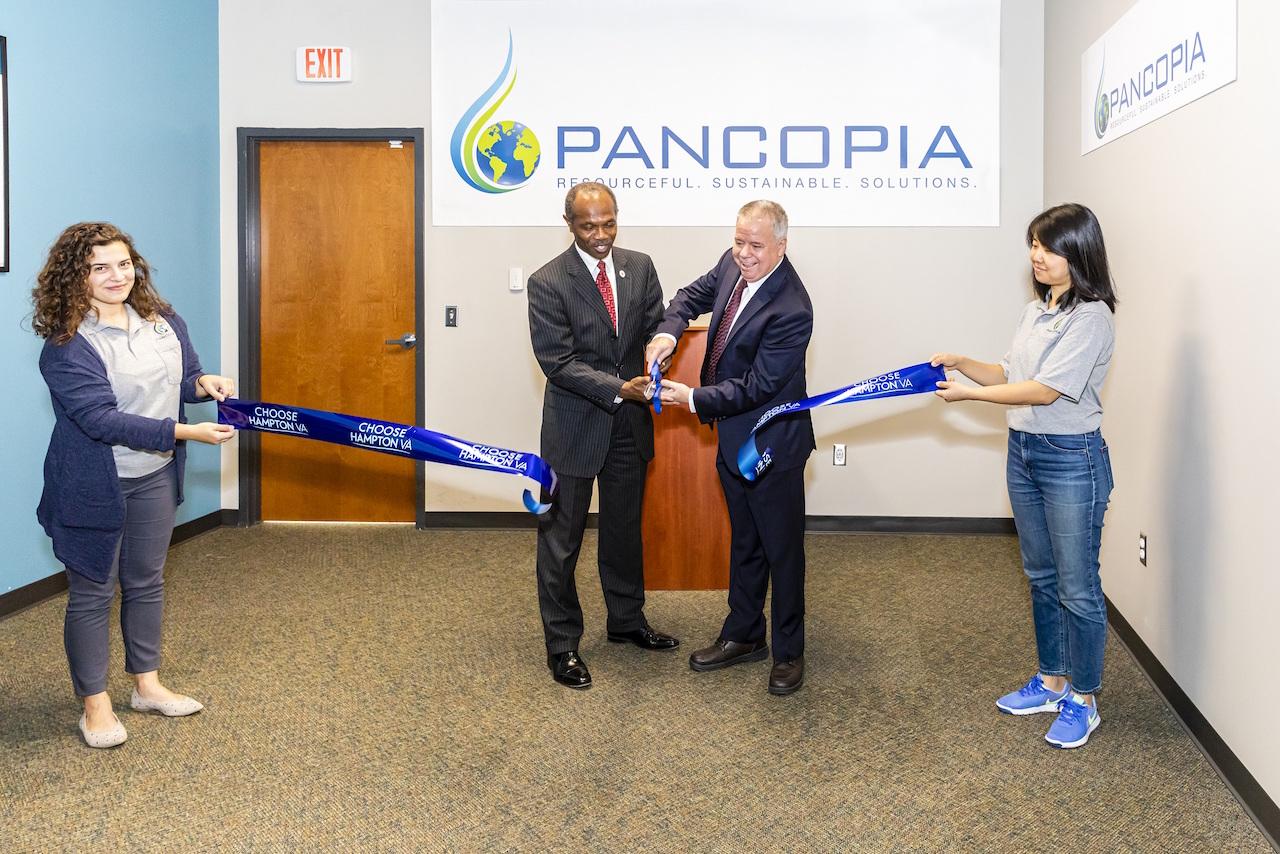 Pancopia ribbon cutting ceremony