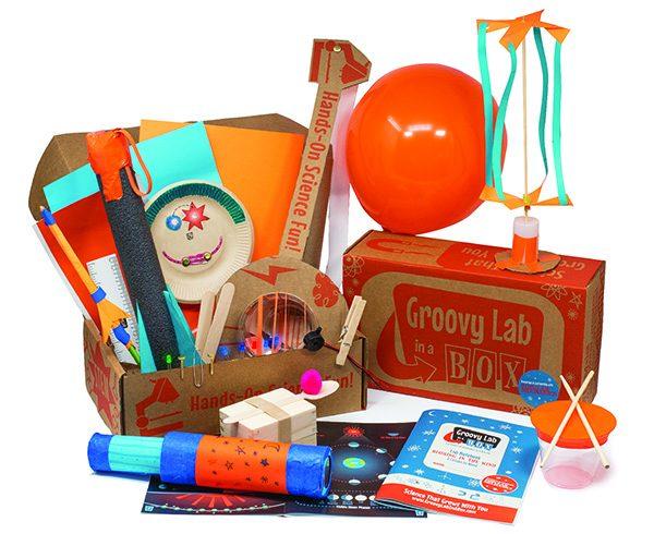 Groovy Lab box