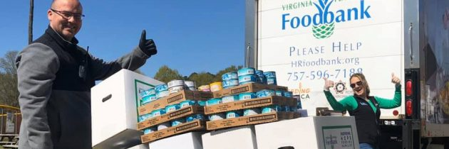 Langley Hosts Virtual Food Drive for Virginia Peninsula Foodbank