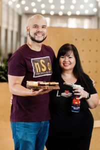 S'mores Amore owners Duane and Kristine Dinio