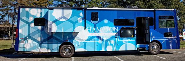 Hampton University Debuts Mobile COVID-19 Vaccine Clinic