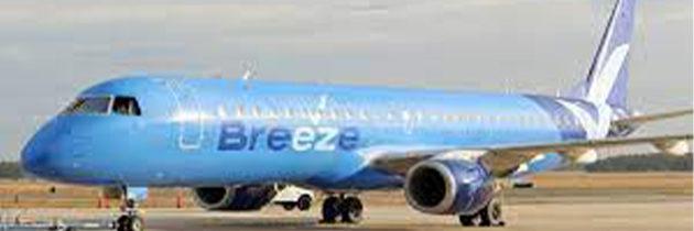 Breeze Airways Coming to Norfolk International Airport